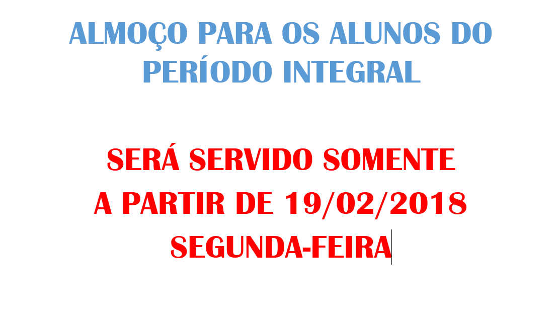 AvisoImportanteAlmoco2018 1